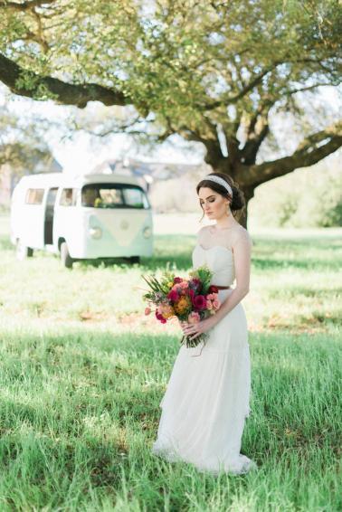 Eclectic Colorful Bohemian Wedding Ideas Via TheELD