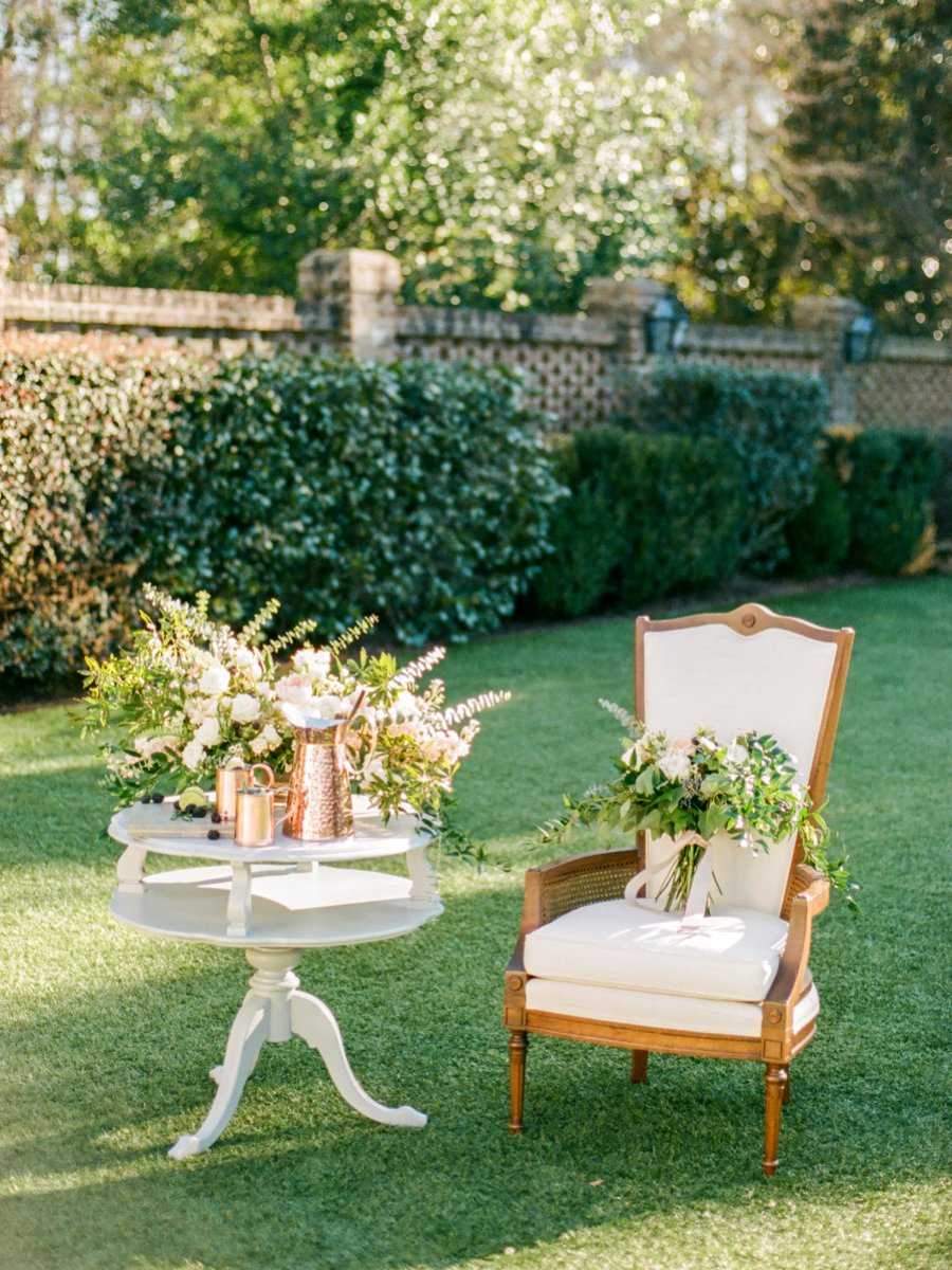 Navy, Copper, & Marble Modern Wedding Ideas via TheELD.com