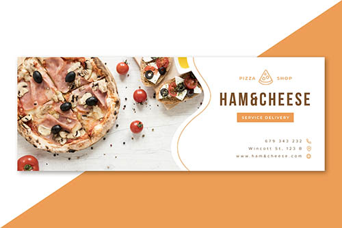Facebook food restaurant cover design