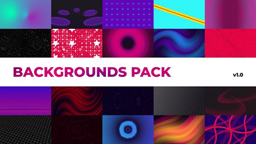 Ambient Backgrounds Pack | Premiere Pro 28340477