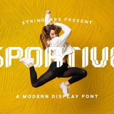 Sportive - Modern Display Font