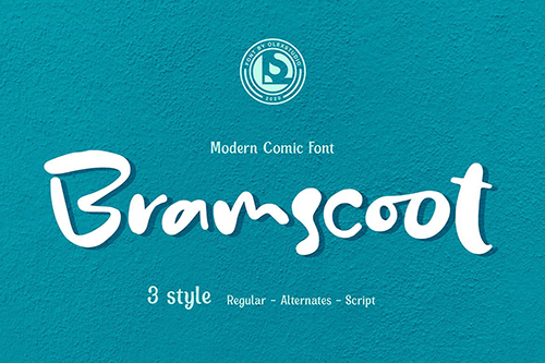 Bramscoot - Modern Display Comic