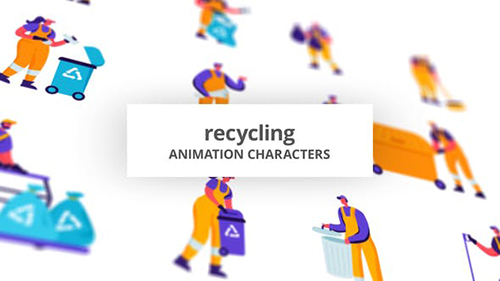 Recycling - Character Set 28672498