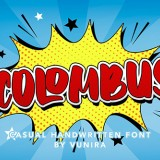 Colombus | Casual Handwritten Font