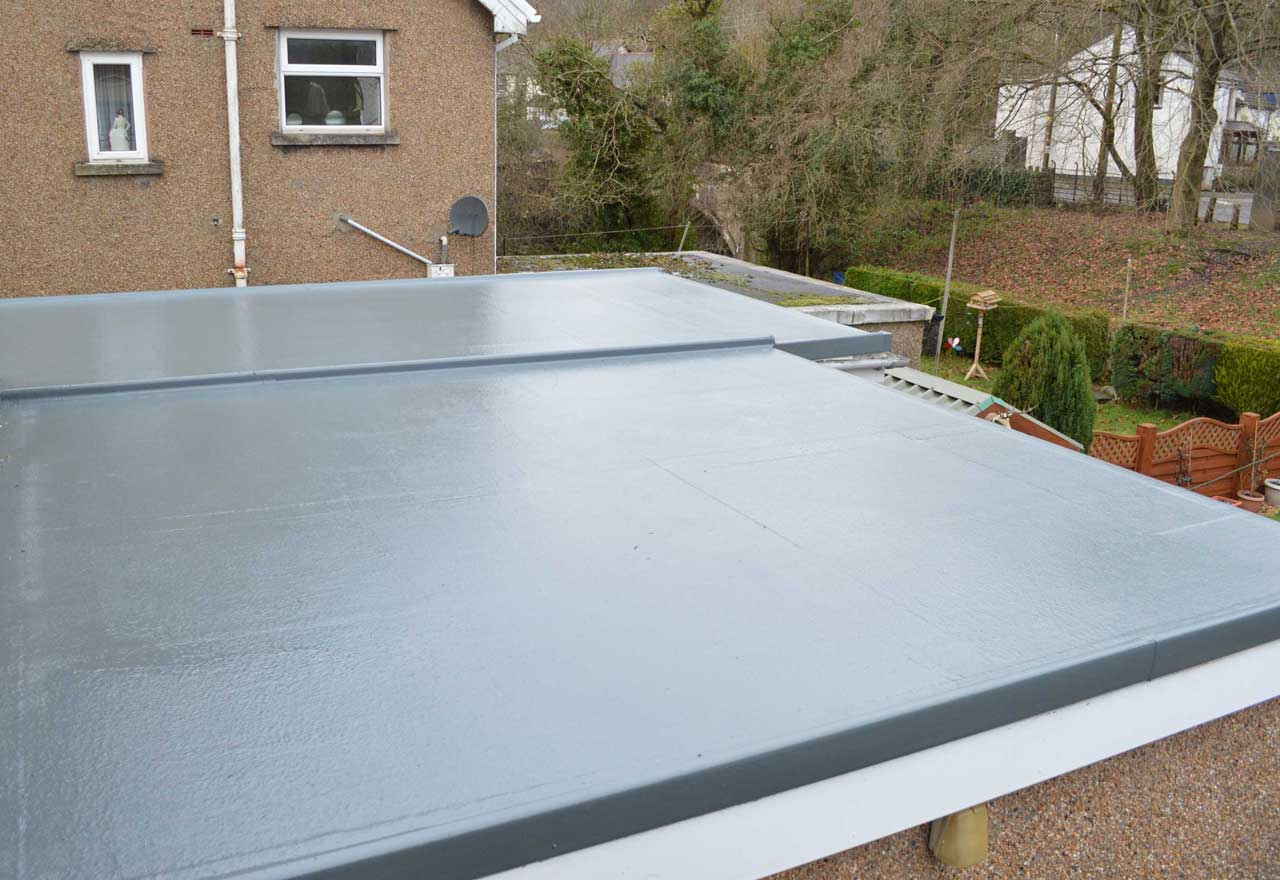 Flat Roofing Garvin Construction