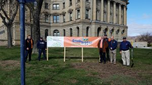 GRASSHOPPER LAWNS PARTICIPATES IN NALP DAY OF SERVICE ON FRIDAY APRIL 20th, 2018