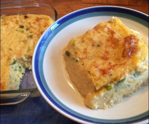 green chile cheese grits