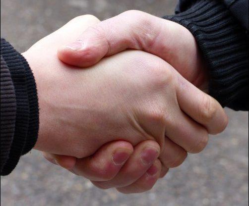 Handshake barter communtiy