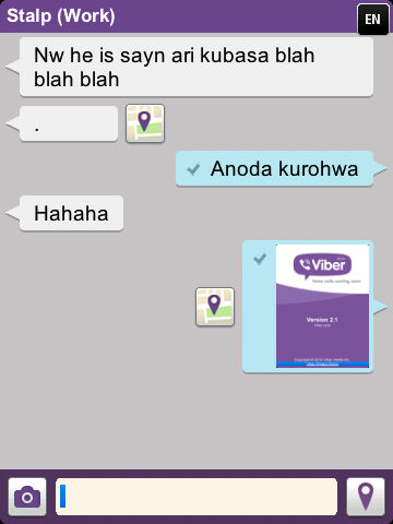 Viber for BlackBerry is here! - Blackberry Empire
