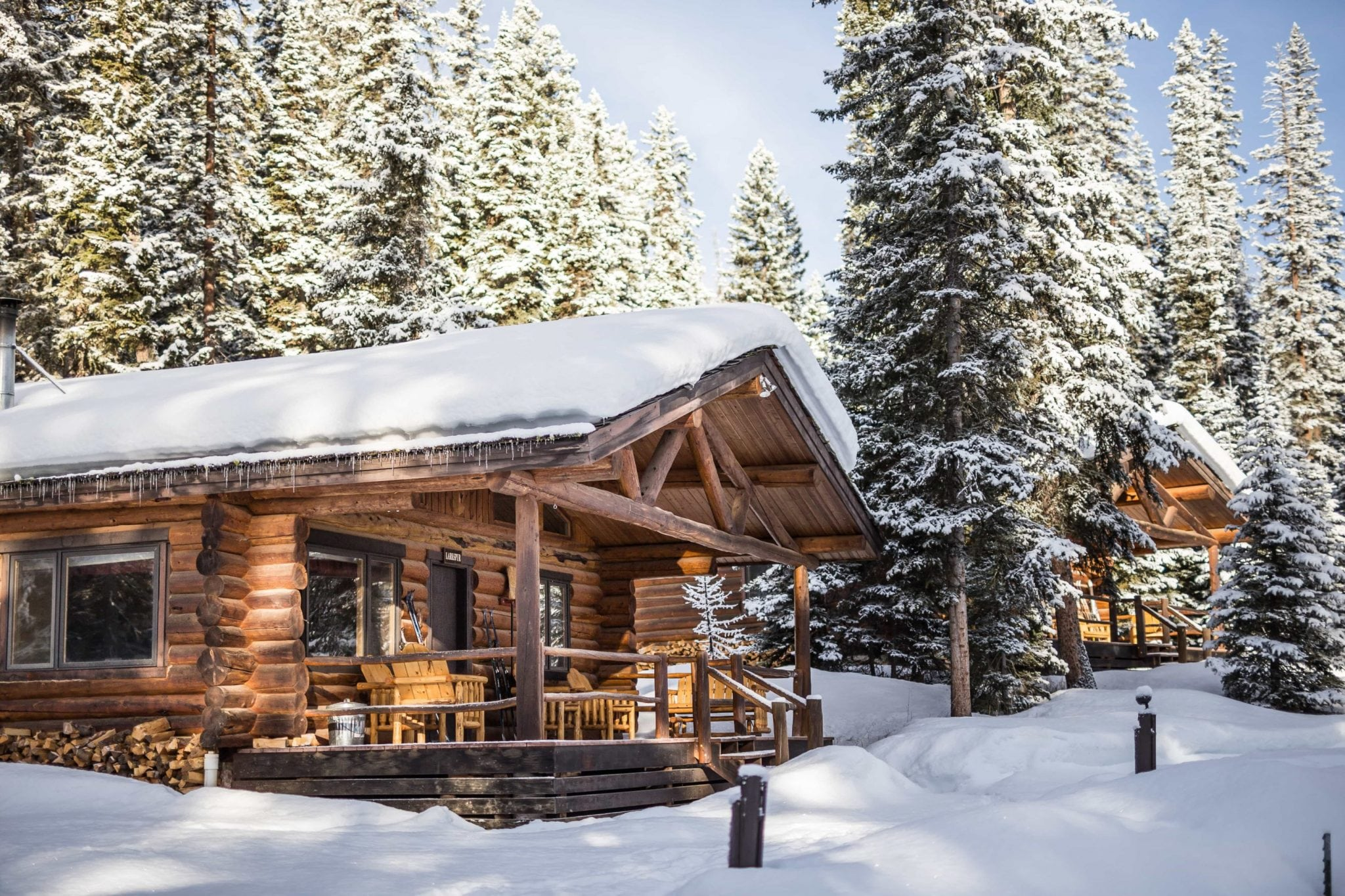 Lone Mountain Ranch - Coyote Cabin in winter