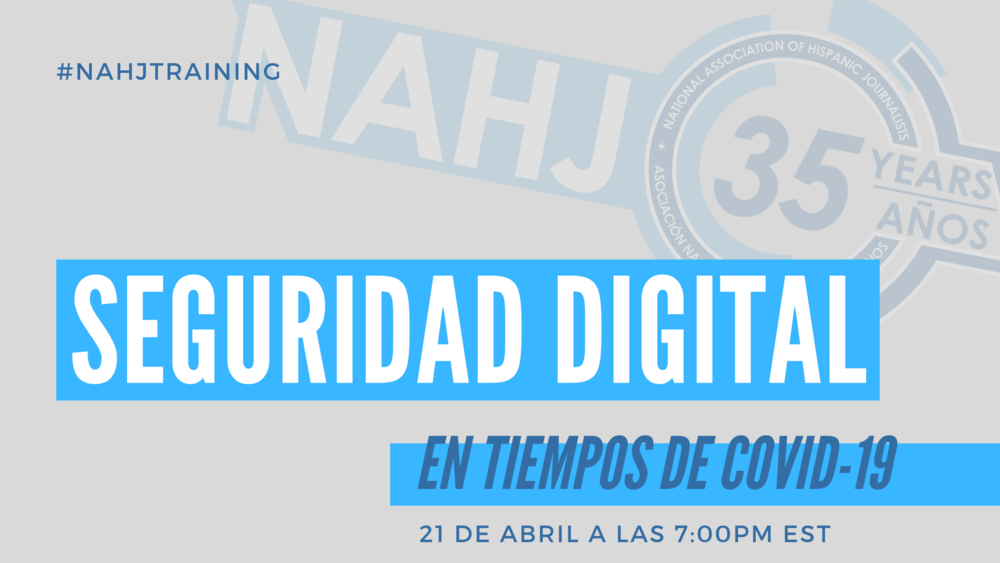Seguridad digital nahj twitter