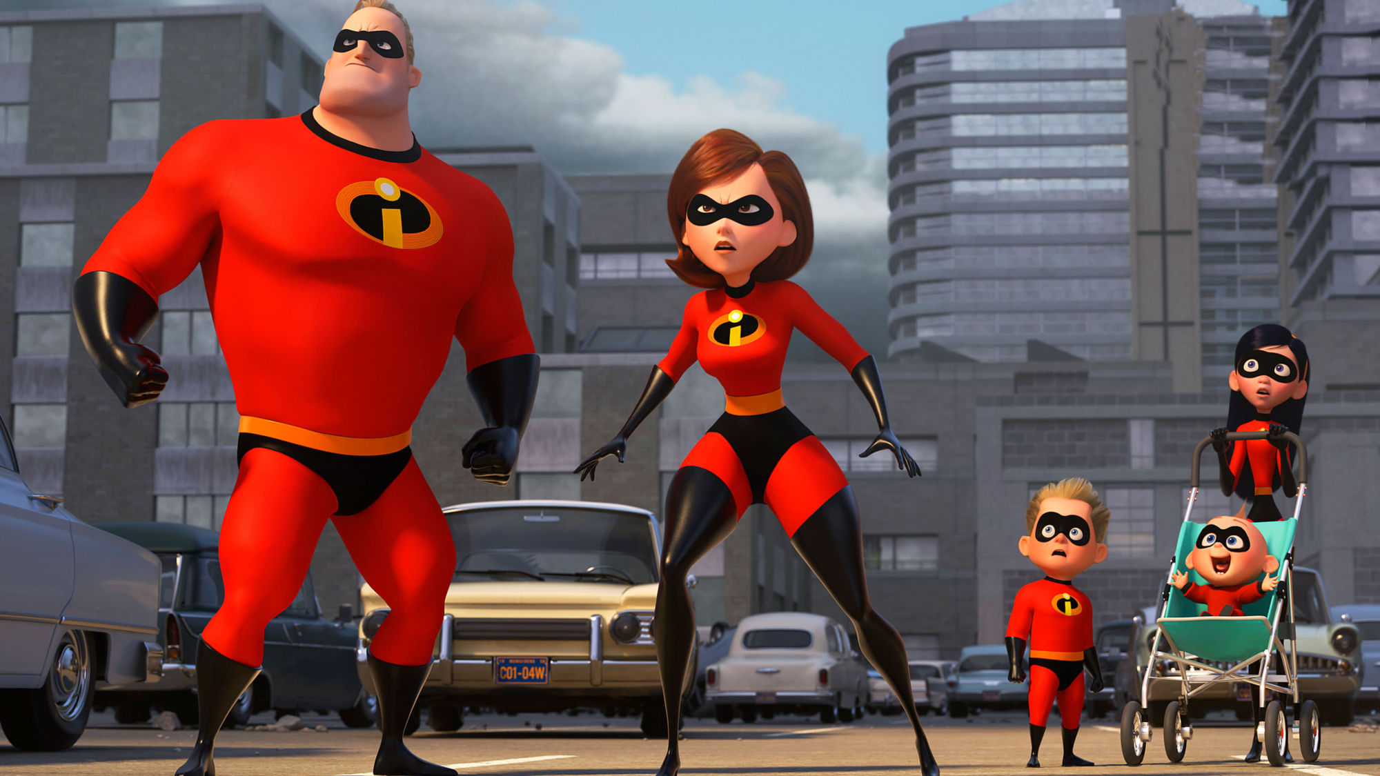 mr-incredible-elastigirl-violet-parr-and-dash-in-the-incredibles-2-2018-qc-3840x2160