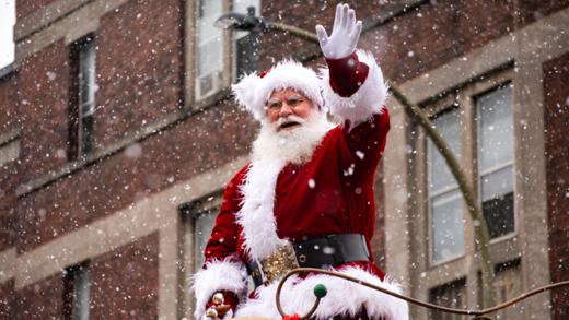 Le traditionnel défilé du Père Noël de Montréal