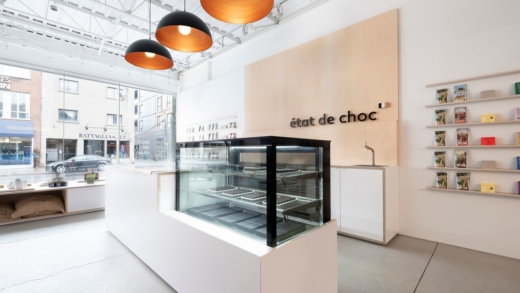 Ouverture de la chocolaterie État de Choc