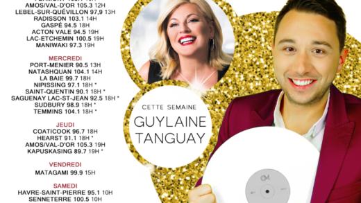 Cette semaine à Studio M : Guylaine Tanguay [Émission spéciale Noël]