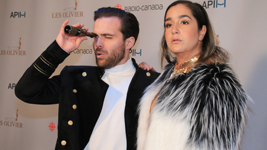 Looks du Gala Les Olivier