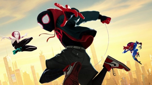 Visionnement: Spider-Man into the Spider-Verse
