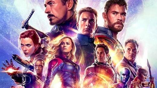 Visionnement: Avengers Endgame