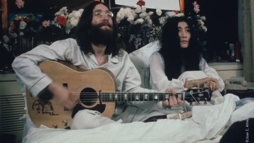Les 50 ans du Bed-in de John Lennon et Yoko Ono