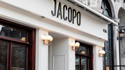 Jacopo: nouveau resto italien