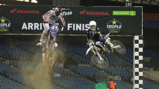 Le Supercross de retour à Montréal