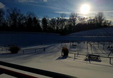 Bloomer Park in Winter Rochester, MI