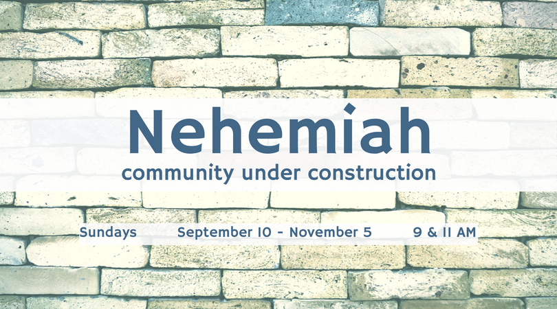 Nehemiah - Community Under Construction