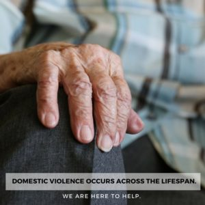 Domestic Violence Occurs Across the Lifespan