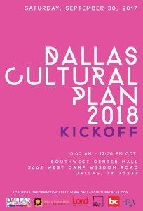 Dallas Cultural Plan Kick Off Redbird Mall