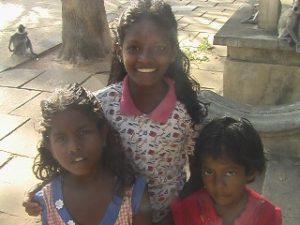 three girls from kataragama