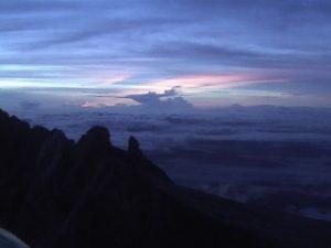 Sunrise from Mt Kinabalu