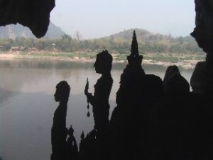 Statues of Pak Ou Cave