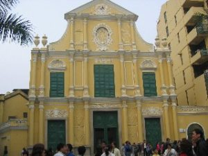 Portugese Church in Macau