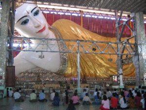 Chaukhtagyi Reclining Buddha