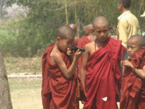 armed monks