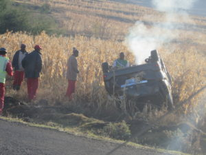 Accident in Lesotho