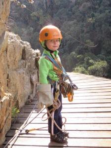 Eliav ziplining