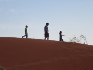 Alpert Family on the Dunes