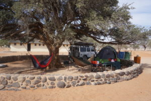 Aardwolf's last campsite