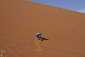 Avital on the Dunes