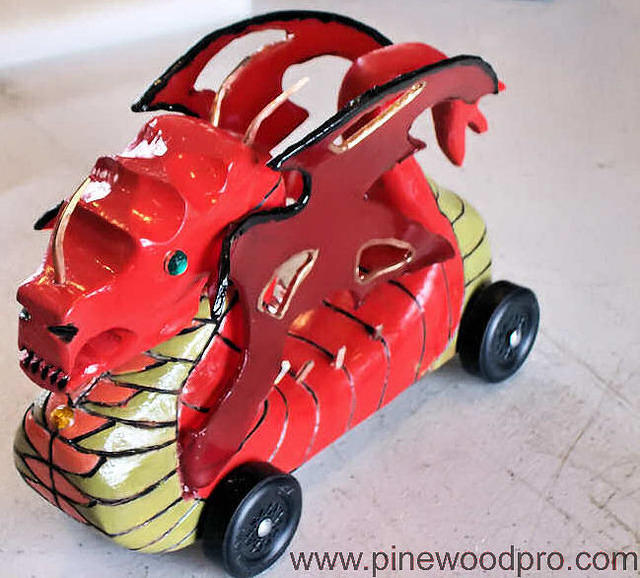 pinewood derby insane dragon car disign picture 09 jpg