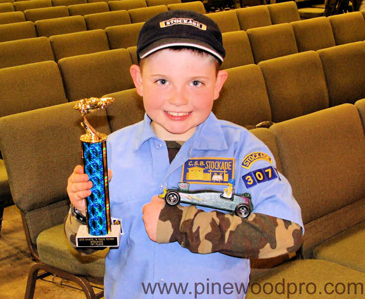 Fast Pinewood Derby Winners