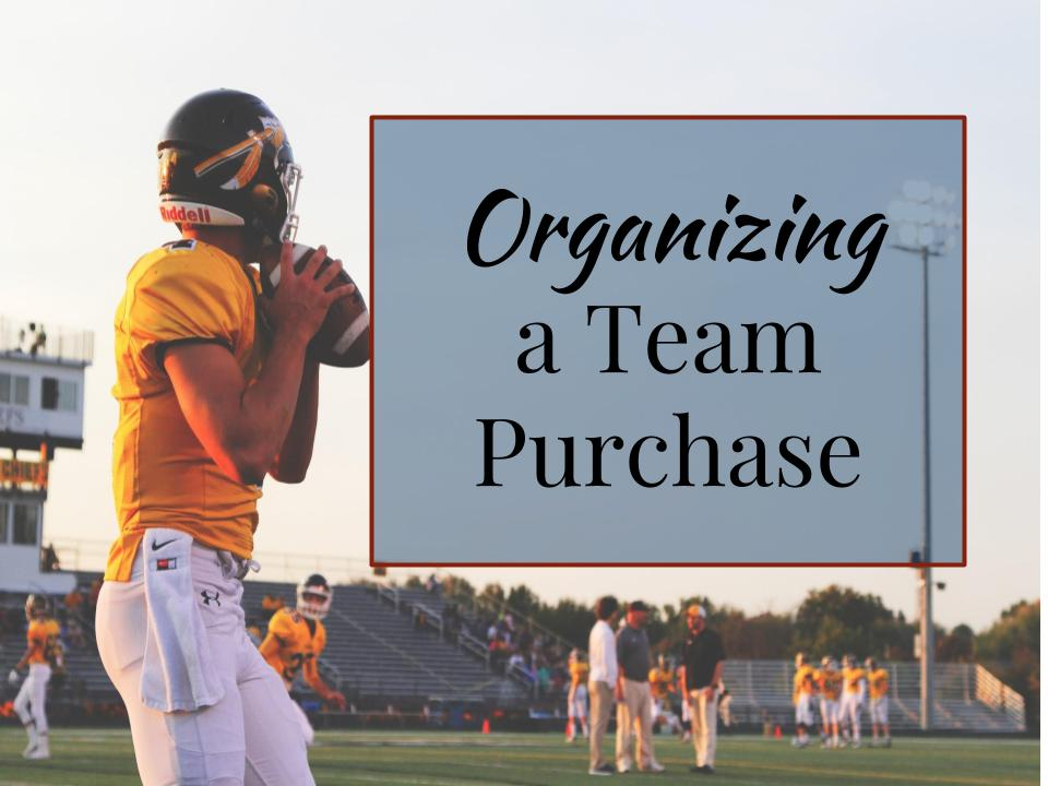 How to Organize a Team Purchase