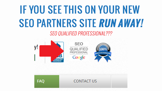 Fake SEO Certifications | Positive Results Marketing