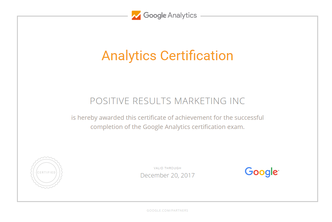 google certifications scranton advertising agency advertising agency office google