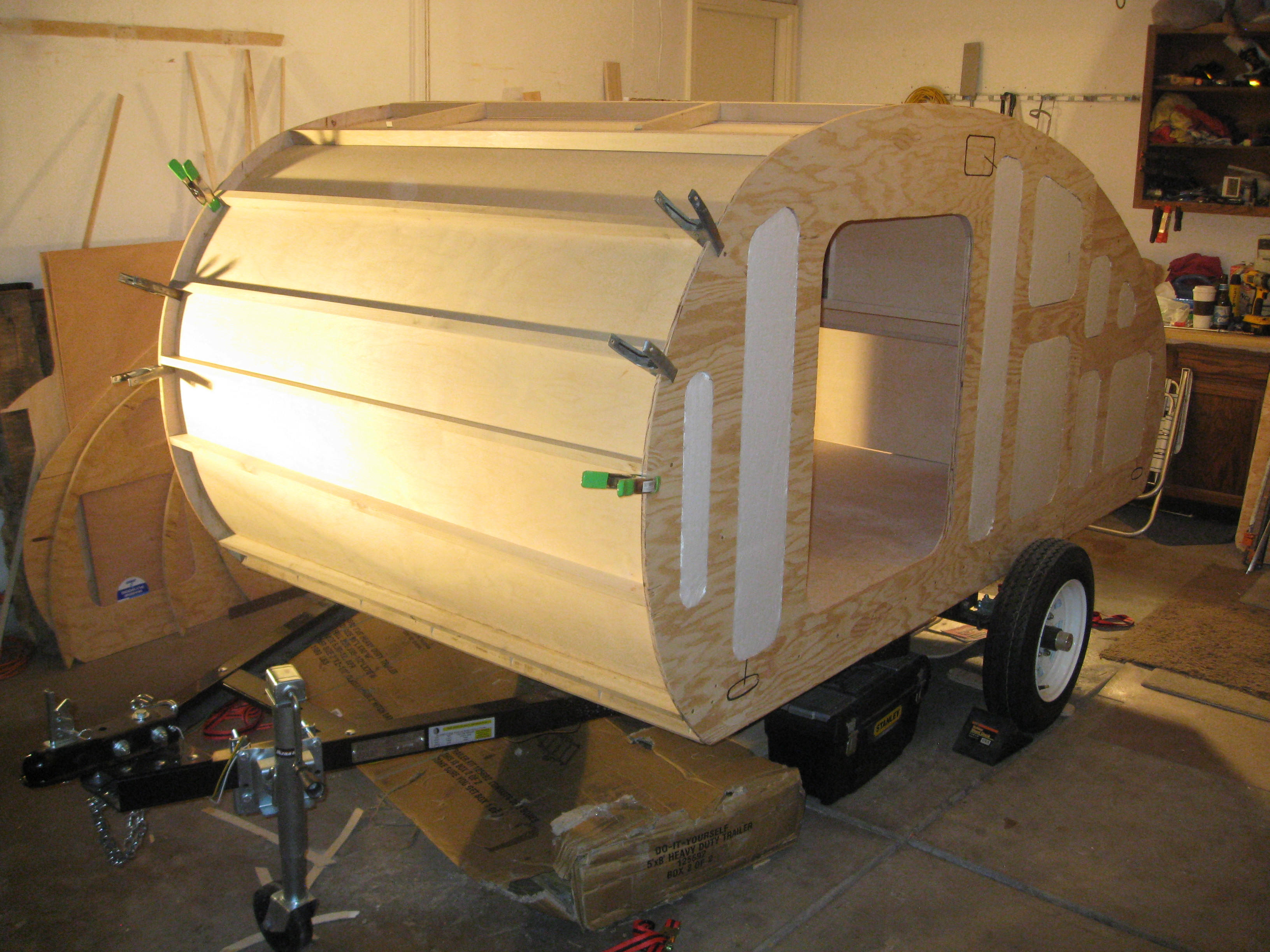 How to build your custom teardrop trailer quickly and for Custom build house online