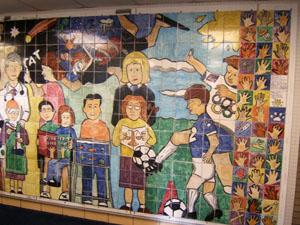 Brookview mural