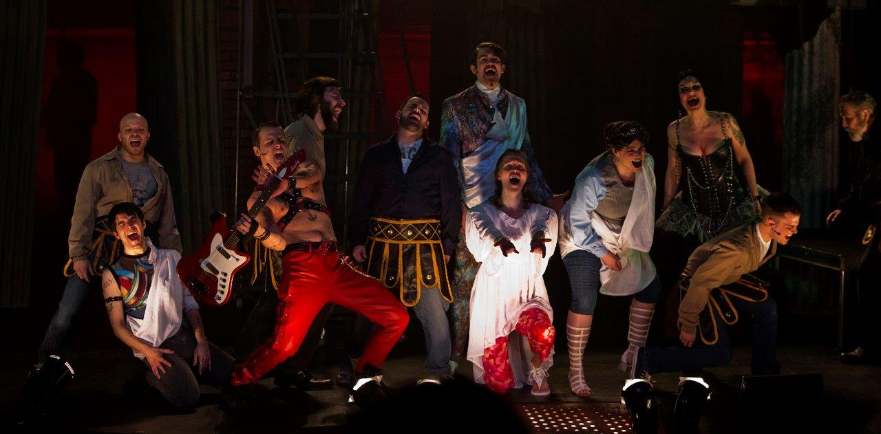 TITUS-A Grand and Gory Rock Musical conceived & directed by Craig George