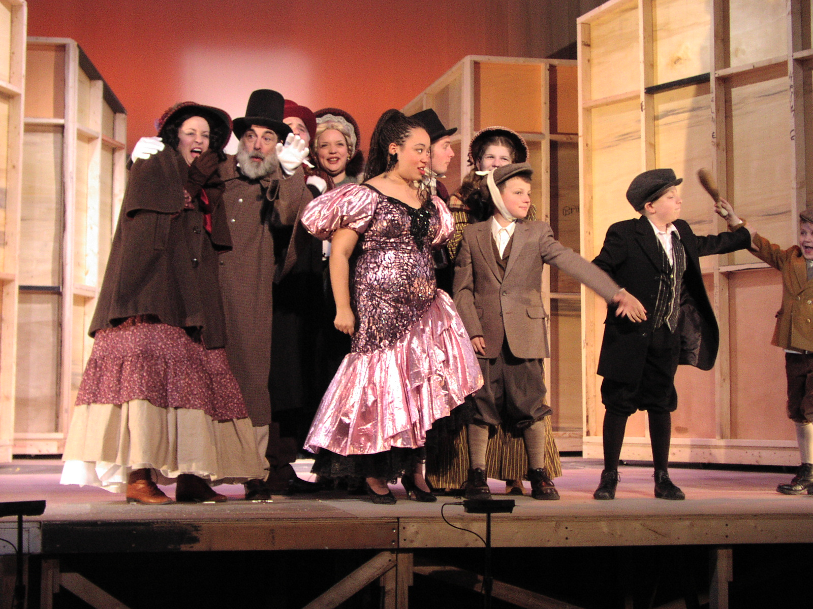 Mrs. Bob Cratchit's Wild Christmas Binge – Dress Rehearsal