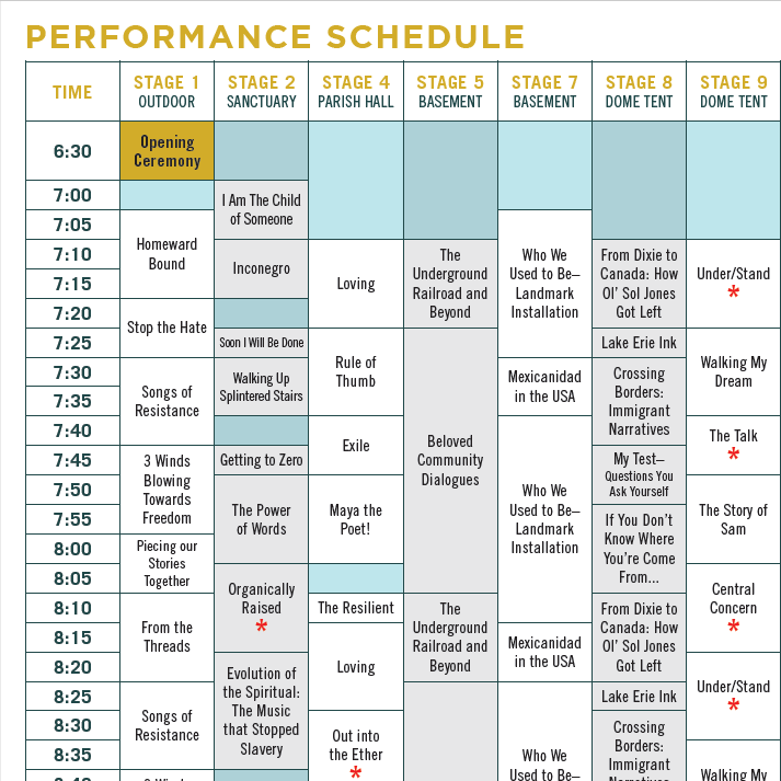 Station Hope Perf Sched Thumb